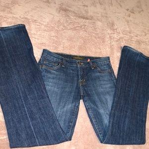 Size 25 David Kahn Boot Cut Jeans